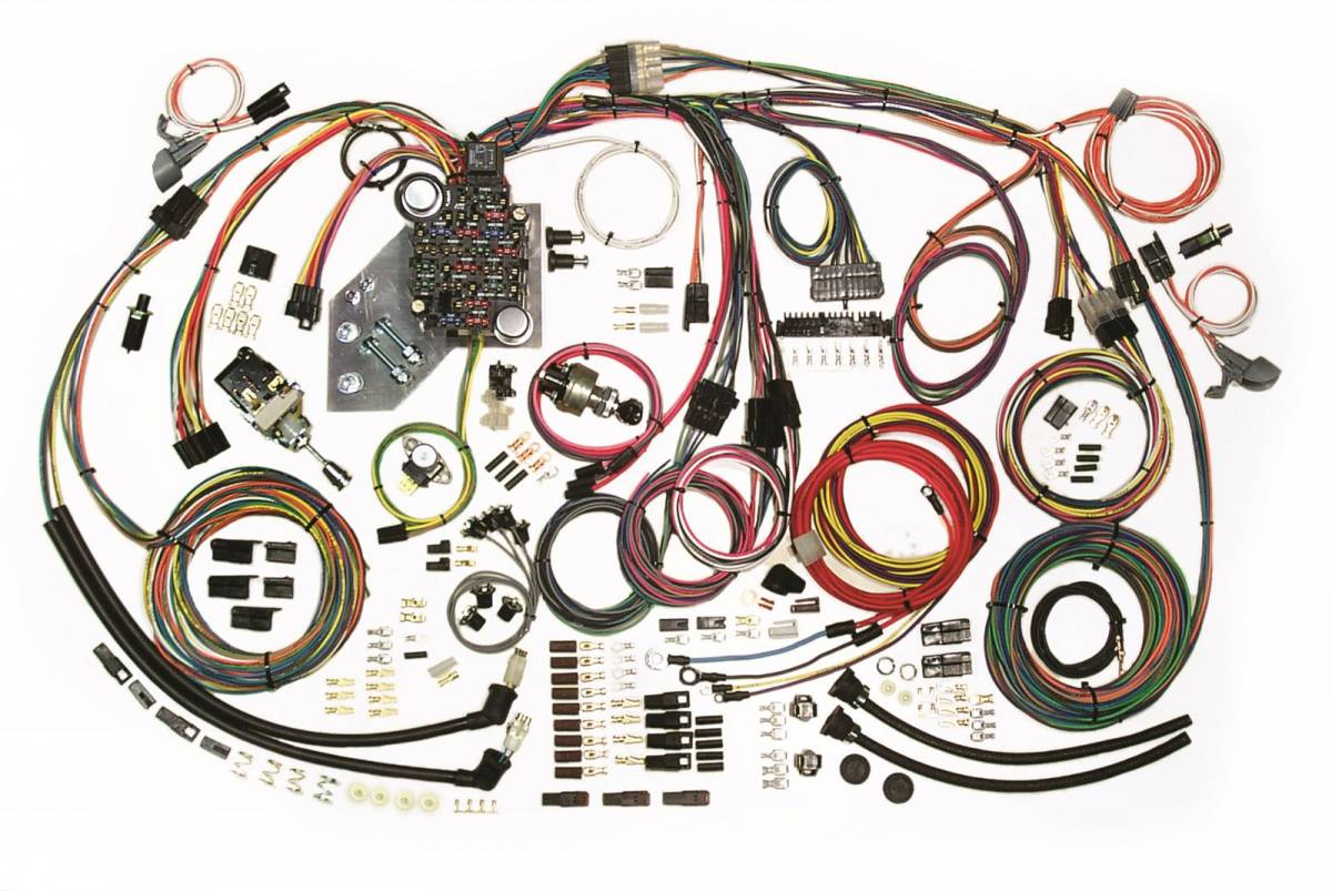American Autowire Wiring Harness. Additional Images