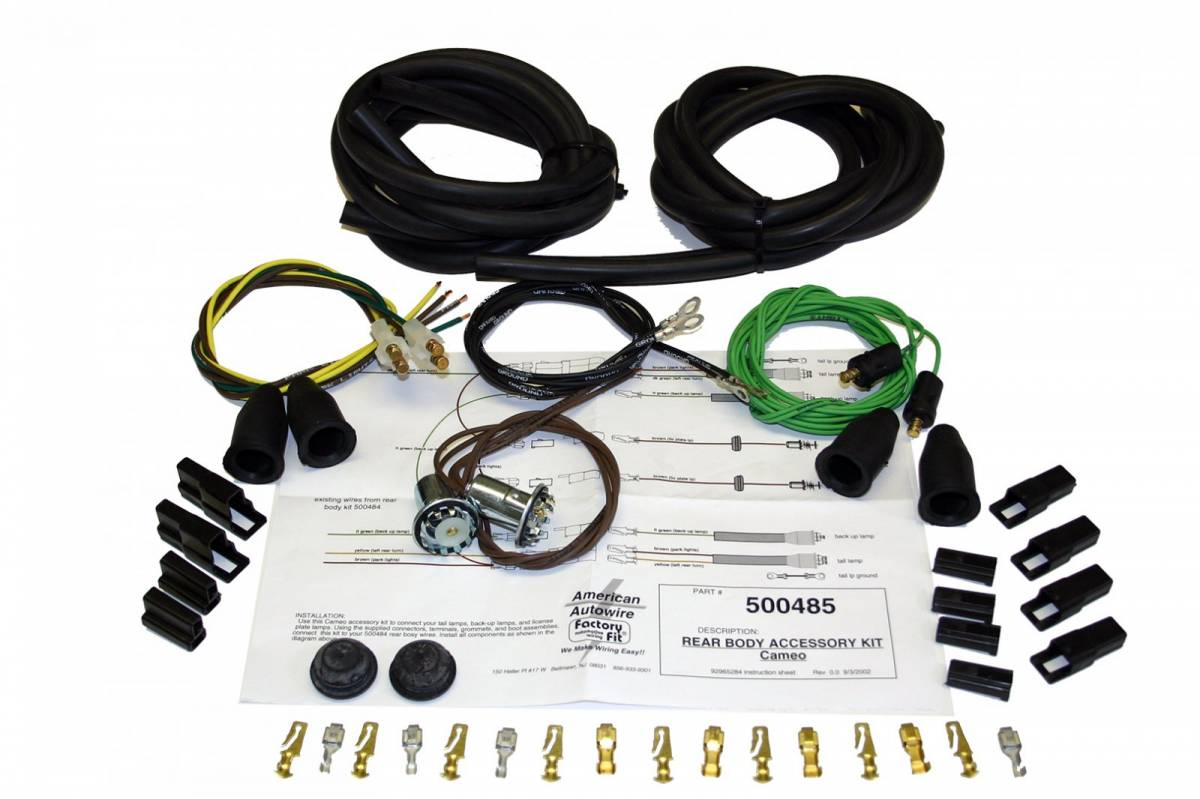 American Autowire Wiring Harness Auto Wire Kits Additional Images