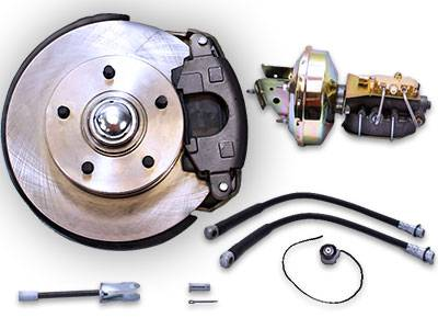 Pre-Assembled Disc Brake Kit