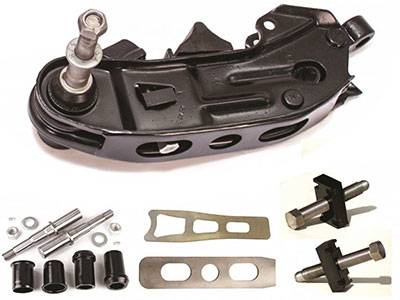 Lower Control Arm Deluxe Rebuild Kit