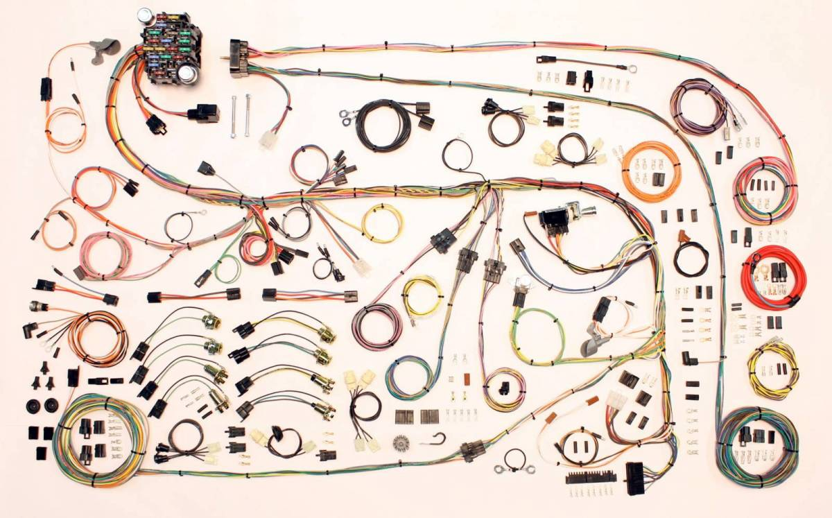 wiring harness american autowire wiring harness