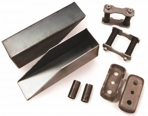 Individual Leaf Spring Components - Leaf Spring Relocation Kits