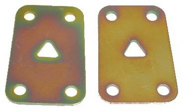 Individual Leaf Spring Components - Reinforcement Plates