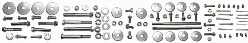 Stainless Steel Hardware Kits - Steering Box Cover and Mount Bolt Kit
