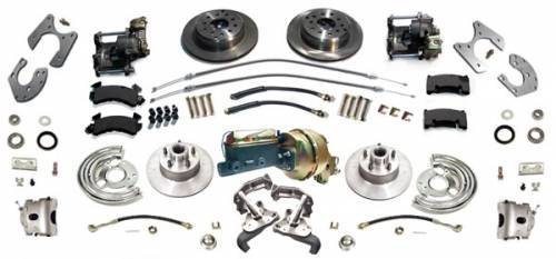 Disc Brake Conversion - Four Wheel Disc Brake Kit