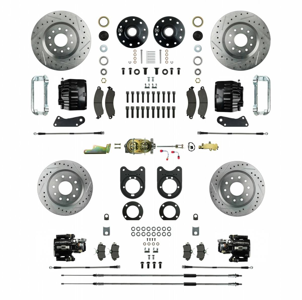 four wheel disc brake conversion kit