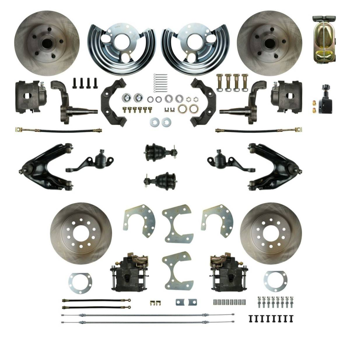 Four Wheel Disc Brake Conversion Kit