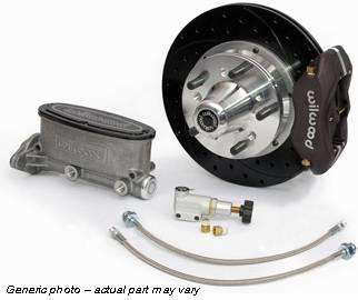 Wilwood - Front Power Wilwood Disc Brake Conversion Kit