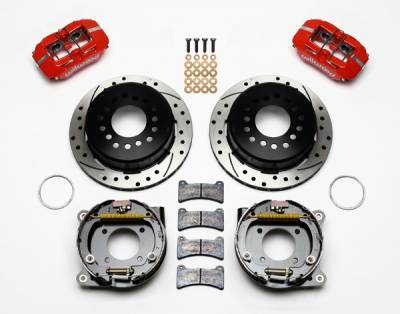 """Wilwood - Wilwood Dynapro 11"""" Rear Parking Brake Kit"""