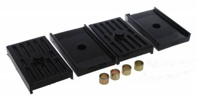 PST - Polygraphite Rear Leaf Spring Pads