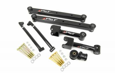PST - Non-Adjustable Black Boxed Rear Trailing Arm Kit