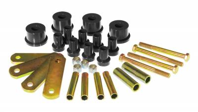 PST - Polygraphite Rear Leaf Spring Bushing Shackle Kit