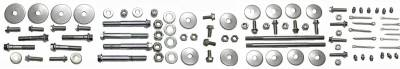 PST - Stainless Steel Steering Box Cover and Mount Bolt Kit