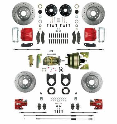 Right Stuff Detailing - Four Wheel Power Disc Brake Conversion Kit