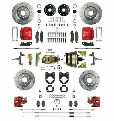 Right Stuff Detailing - Four Wheel Power Disc Brake Conversion Kit