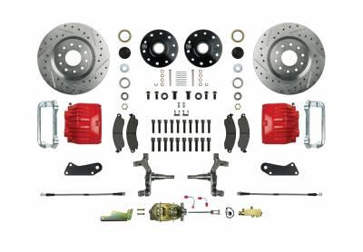 Right Stuff Detailing - Front Manual Disc Brake Conversion Kit