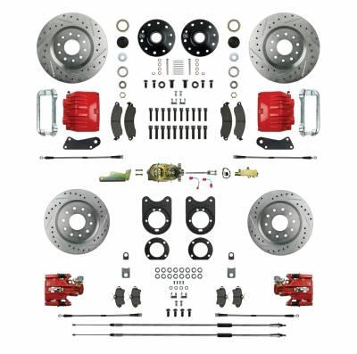 Right Stuff Detailing - Four Wheel Manual Disc Brake Conversion Kit