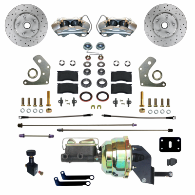 Leed Brakes - Front Power Disc Brake Conversion Kit