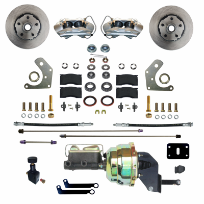 GPS Automotive - Front Power Disc Brake Conversion Kit