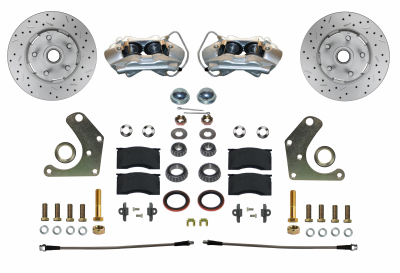 GPS Automotive - Front Wheel Disc Brake Conversion Kit