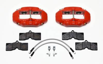 Front Calipers & Pads