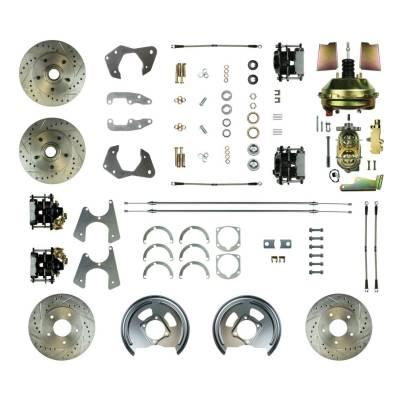 PST - Four Wheel Disc Brake Conversion Super Kit