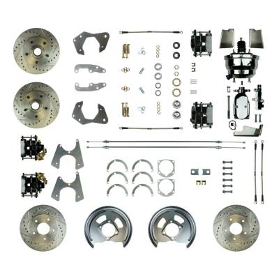 PST - Four Wheel Disc Brake Conversion Super Kit