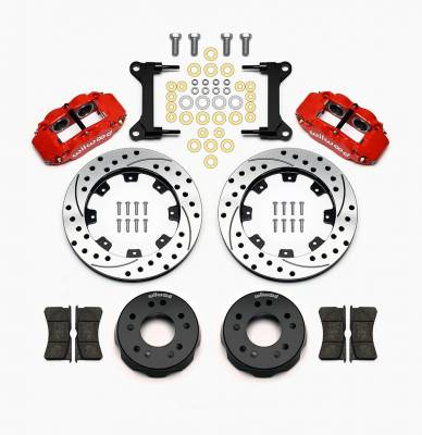 Wilwood - Wilwood Forged Narrow Superlite 4R Big Brake Front Disc Brake Conversion Kit