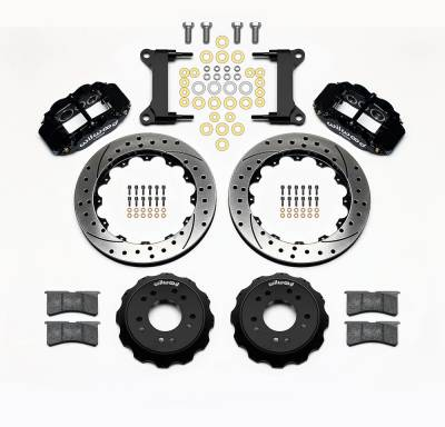 Wilwood - Wilwood Forged Narrow Superlite 6R Big Brake Front Disc Brake Conversion Kit