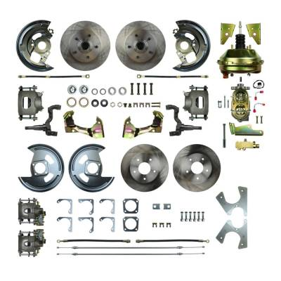 PST - Four Wheel Power Disc Brake Conversion Kit