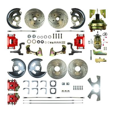 PST - Four Wheel Power Disc Brake Conversion Kit