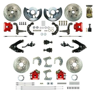 PST - Four Wheel Super Disc Brake Conversion Kit