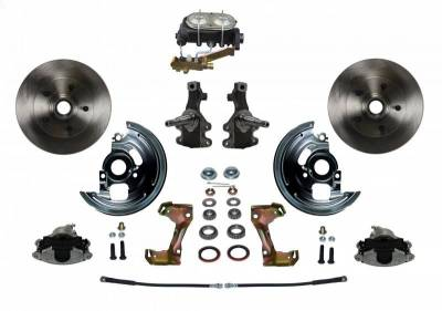 Leed Brakes - Front Manual Disc Brake Conversion Kit