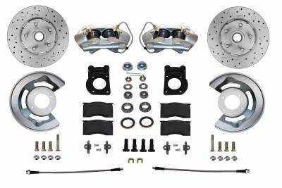 Leed Brakes - Front Spindle Mount Disc Brake Conversion Kit