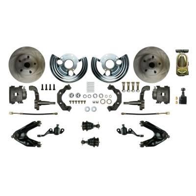 PST - Front Manual Disc Brake Conversion Kit