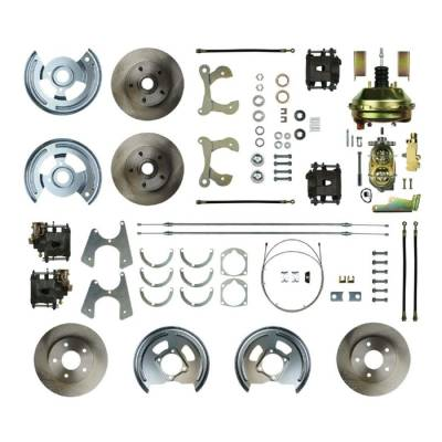 PST - Four Wheel Disc Brake Conversion Kit