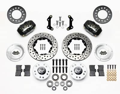 Wilwood - Front Manual Wilwood Disc Brake Conversion Kit