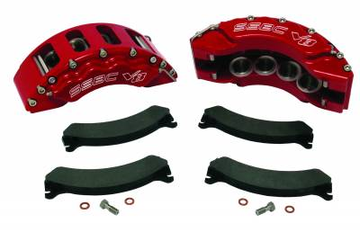 SSBC - SSBC Quick Change Eight Piston Front Caliper Upgrade Kit