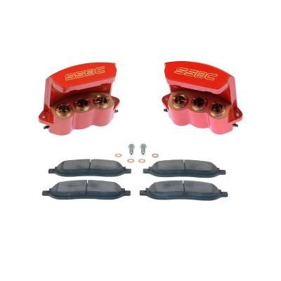 SSBC - SSBC Quick Change Three Piston Rear Caliper Upgrade Kit