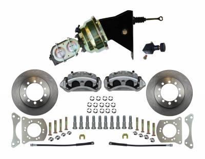 Leed Brakes - Front Power Disc Brake Conversion Kit