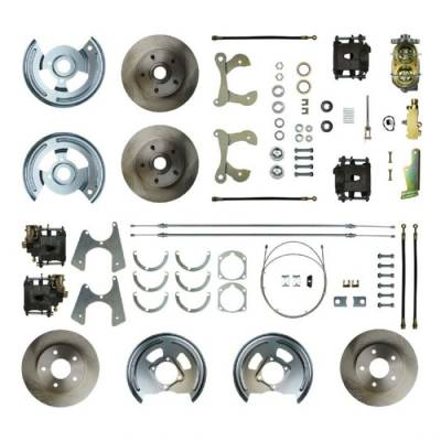 PST - Four Wheel Manual Disc Brake Conversion Kit