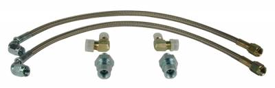 Braided Stainless Hose Kit (included)