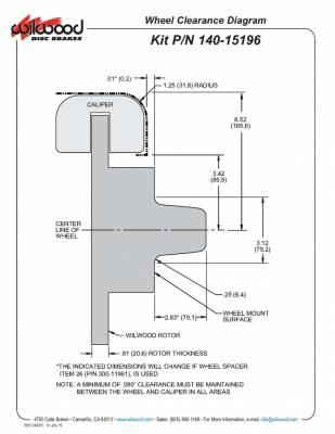 Wheel Clearance Diagram