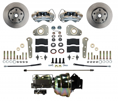 Leed Brakes - Front Power Disc Brake Conversion Kit - Image 1