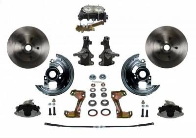 PST - Front Manual Disc Brake Conversion Kit - Image 1