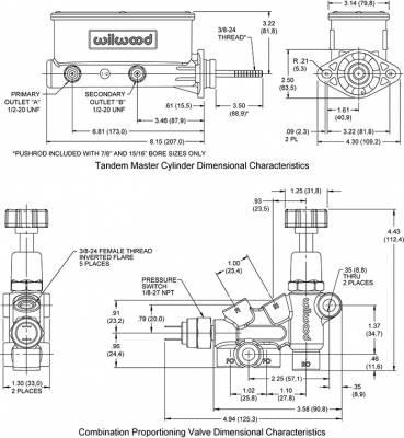 "Wilwood - 7/8"" Master Cylinder - Image 2"