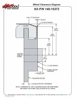Wilwood - Wilwood Classic Series Dynalite Front Disc Brake Conversion Kit - Image 2