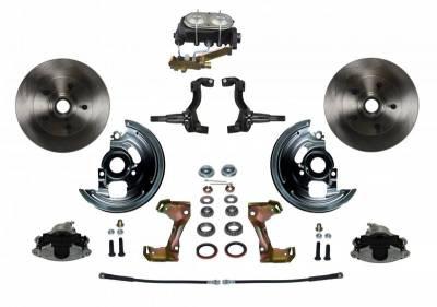 Leed Brakes - Front Manual Disc Brake Conversion Kit - Image 1