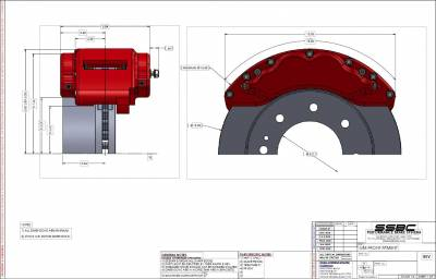 SSBC - SSBC Barbarian Eight Piston Front Caliper Upgrade Kit - Image 5